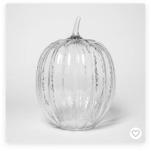 Target bubble crystal pumpkin 13.7 x 10 threshold